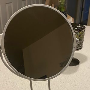 Bath - Small White Vanity mirror